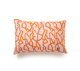 [ABODE] DREAM CATCHER PEACH PILLOWCASE SET OF 2