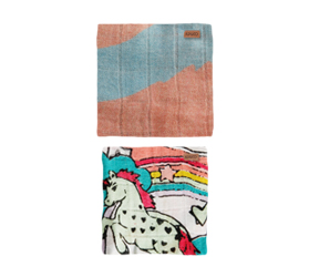 [ABODE] STARBRIGHT & SWISH SWASH BABY NAP WRAPS (2 Pack)