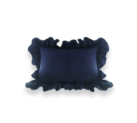 [AB FAB] LINEN FRILL CUSHION COVER (2 colors)